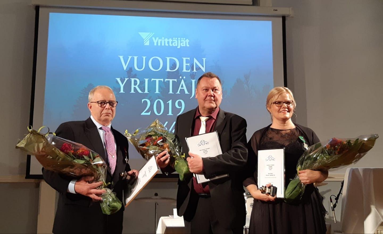Sammon yrittäjäpalkinto 2019 – Mira Åfelt, Miracle-palvelut Oy